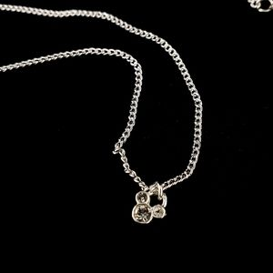 NWOT! Disney Mickey Mouse Silver Tone Necklace